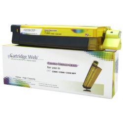 Toner Yellow OKI C5800 zamiennik