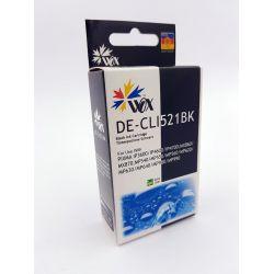 Tusz Black Canon CLI 521BK z chipem zamiennik