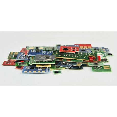 Chip Cyan Lexmark C524 zamiennik